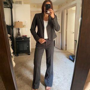 BCBG MAXAZRIA Grey Pant Suit